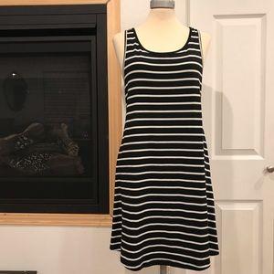 Mossimo Black And White Striped Dress